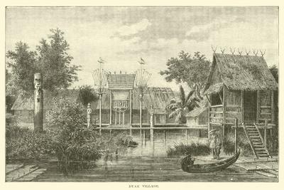 Dyak Village