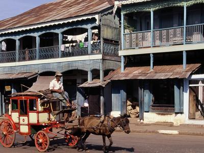 Horse and Cart, Mamyo, Myanmar