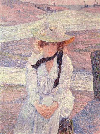 Young Woman on the Banks of the Greve River, 1901