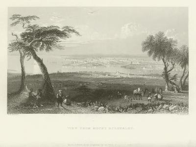 View from Mount Bulgurlhu, Turkey, 1839