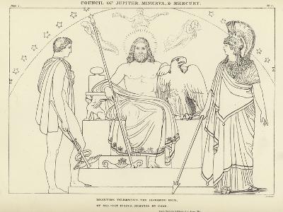 Council of Jupiter, Minerva and Mercury