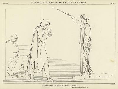 Minerva Restoring Ulysses to His Own Shape