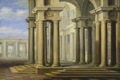 Colonnade, Painting