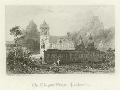 The Ghugun Mahal, Penukonda, India