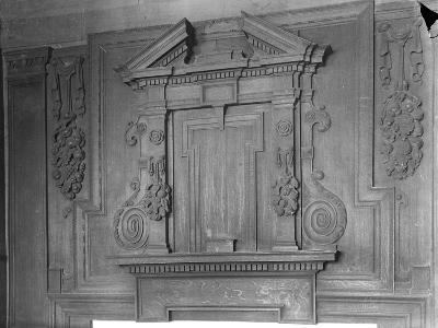 Overmantel, the Perne Library