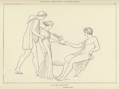 Pandora Brought to Epimetheus