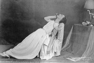 The Actress Berthe Bovy