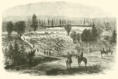 Confederate Works at Hatcher's Run, August 1864