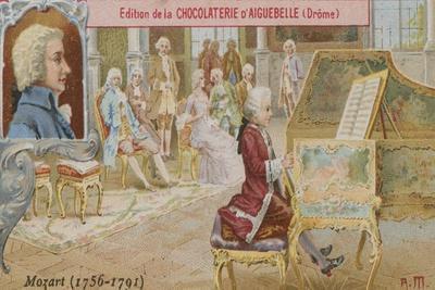 Wolfgang Amadeus Mozart, Austrian Composer