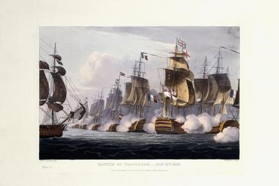 The Battle of Trafalgar, October 21st 1805, 1816