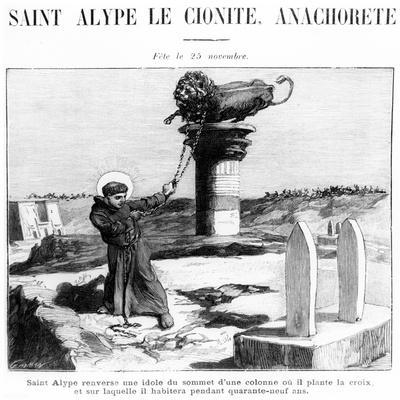 Saint Alypius the Stylite, C.1900