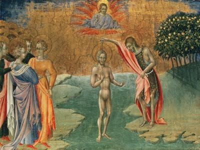 The Baptism of Christ, 15th Century