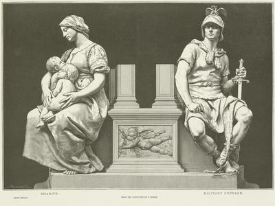 Allegories of Charity and Military Courage