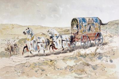 13th Century Horse Drawn Ladies' Carriage, 1886