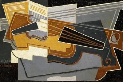 Violin and Clarinet, 1921