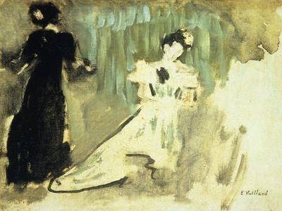 Two Women; Deux Femmes, C.1905