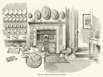 Kitchen, with Double-Oven Range