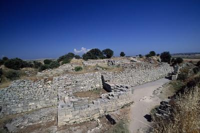 Ruins of Walls of Troy VI, Troy