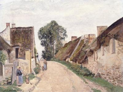 Village Sstreet, Auvers-Sur-Oise, 1873