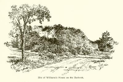 Site of Williams's House on the Seekonk