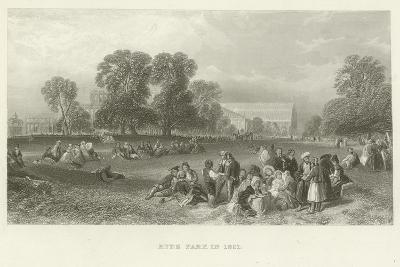 Hyde Park in 1851