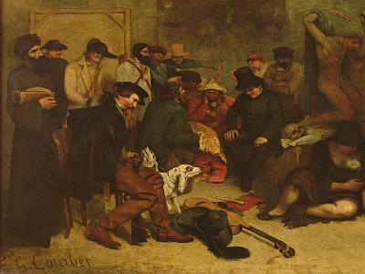 The Studio of the Painter, a Real Allegory, 1855