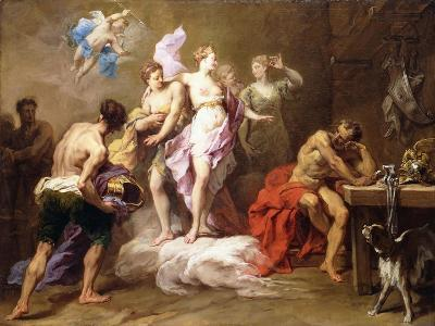 Venus Ordering Arms from Vulcan for Aeneas