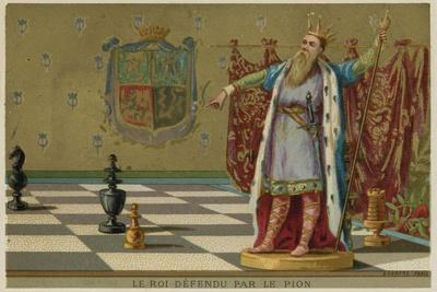The King Defended by a Pawn