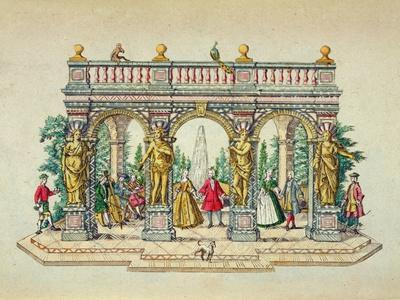 A Musical Party in an Arbour, Mid 18th Century