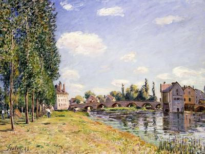 The Moret Bridge in the Summer, 1888
