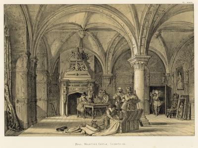 Hall, Bolsover Castle, Derbyshire