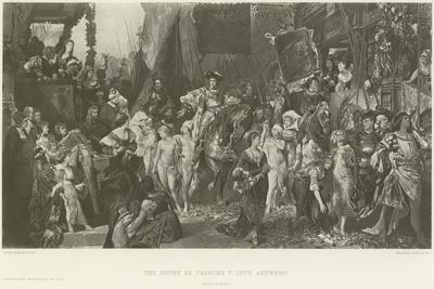 The Entry of Charles V into Antwerp