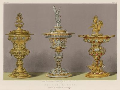 Silver Tazzas by Messrs S Garrard and Co, London