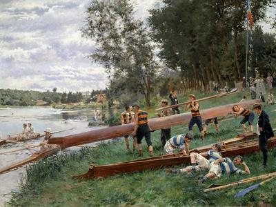 On the Edge of the Marne, 1899
