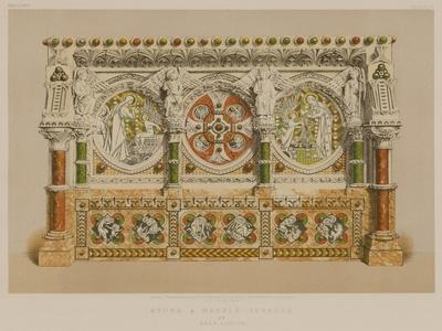 Stone and Marble Reredos by Earp, London