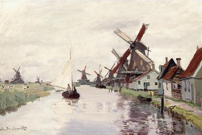 Windmill in Holland, 1871