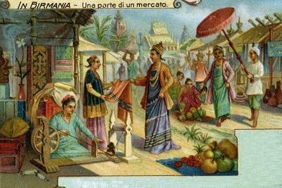 A Market in Burma