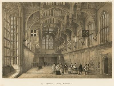 Hall, Hampton Court, Middlesex