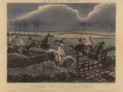 The First Steeple Chase on Record, 1839