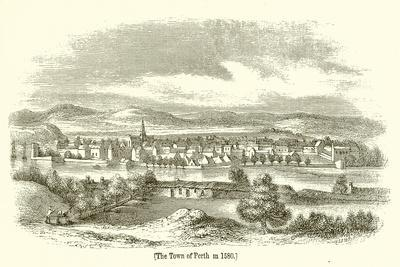 The Town of Perth in 1580
