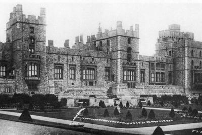 Italian Gardens, Windsor Castle, C.1900-1910