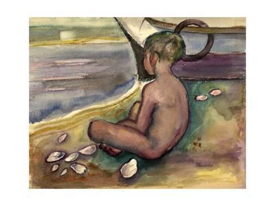 Child with Sea Shells, 1955-60