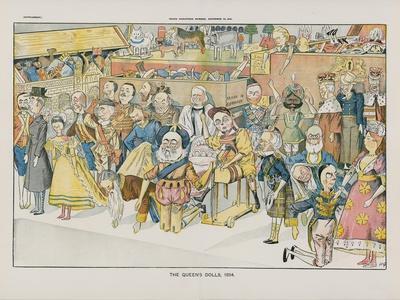 The Queen's Dolls. 1894