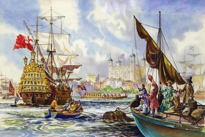 The Tower of London in the Late 17th Century