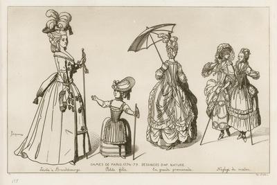 Women of Paris, 1774-79
