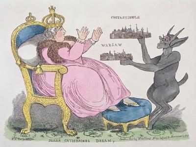 Queen Catherine's Dream, 1791