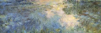 Basin of Water Lilies