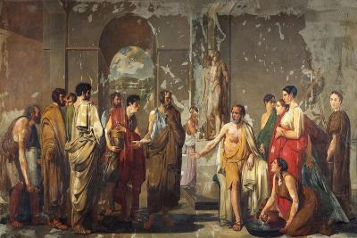 Athenian Phocion Refusing Alexander's Gifts