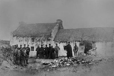 Eviction on the Olphert Estate, Falcarragh, County Donegal, Ireland, 1888
