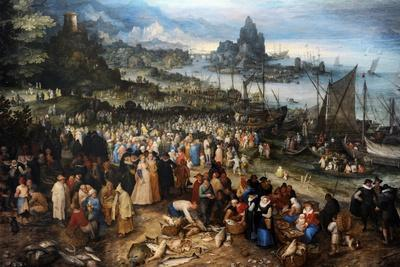 Harbour Scene with Christ Preaching, 1598